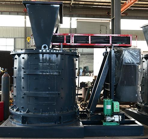 山东立轴制砂机 Vertical shaft sand making machine